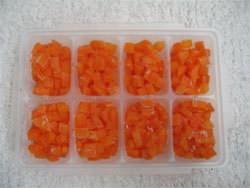 にんじんの冷凍保存