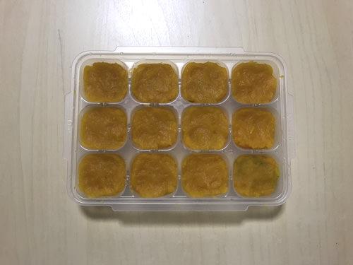 かぼちゃの冷凍保存