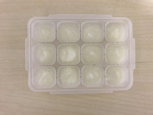 かぶの冷凍保存
