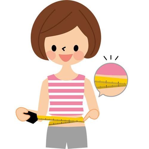 産後の体重